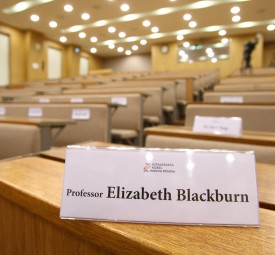 Elizabeth Blackburn Lecture Video