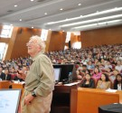 Has life changed since being awarded the Nobel Prize?