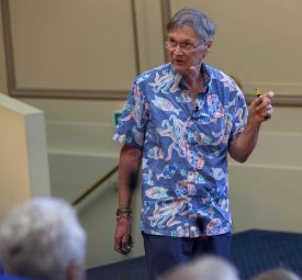 Where do Ideas come from? Nobel Laureate Tim Hunt